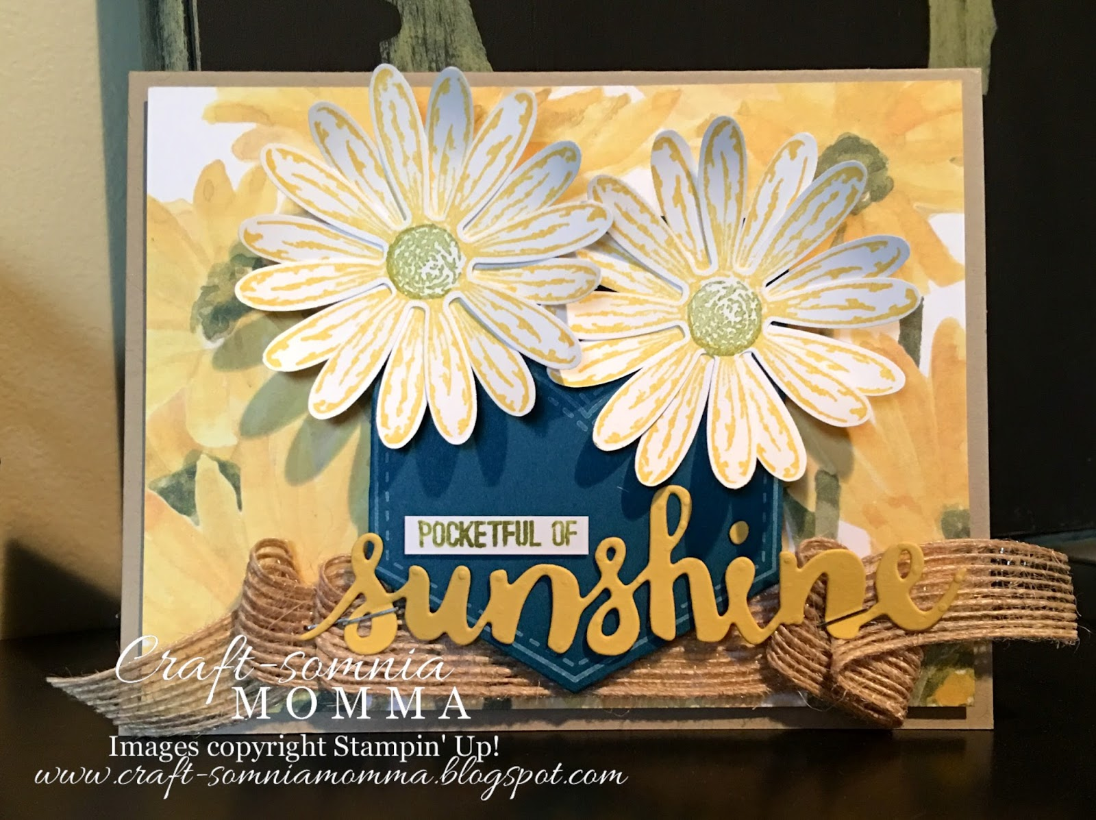 Craft somnia momma pocketful of sunshine hsssc286 after seeing this weeks hss sketch i knew it was the bundle to use with a fun cheerful daisies ive got a real pocketful of sunshine m4hsunfo