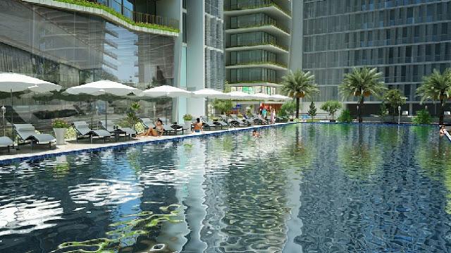 Bể bơi Condotel Wyndham Soleil Đà Nẵng