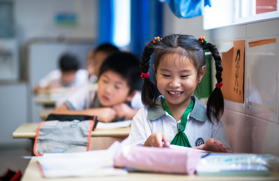 30 Beautiful Pictures Of Girls Going To School Around The World - China