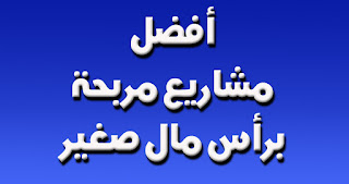 افضل مشاريع صغيرة مربحة في مصر والسعودية  براس مال صغير