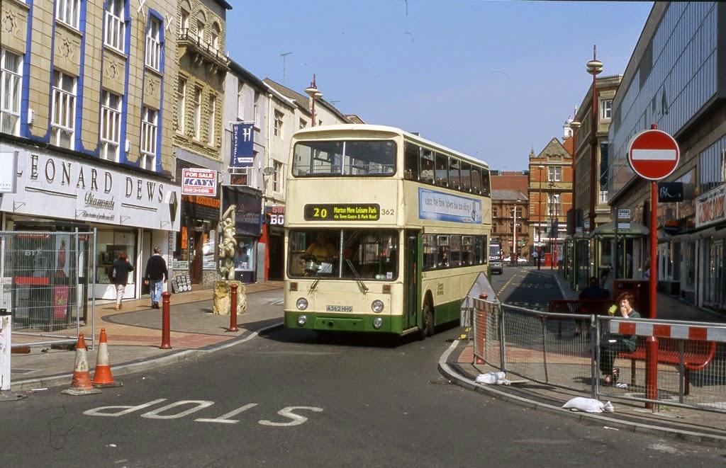 Fylde Bus Blog Blackpool Atlantean 362 Restored