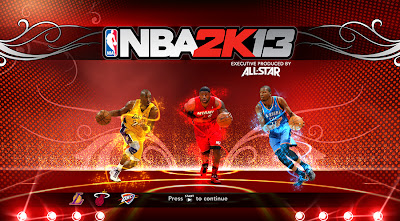 NBA 2K13 Kobe, LeBron, and Durant Game Cover NBA2K Mod