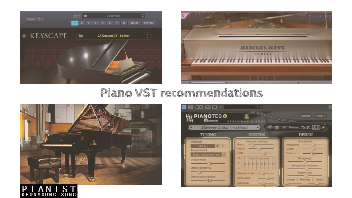 Best Piano VSTs Review/Recommendations_각 특징별 베스트