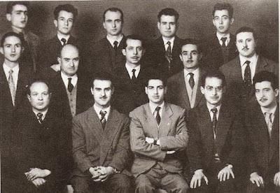 Componentes del equipo del Club Ajedrez Granja, temporada 1957/58