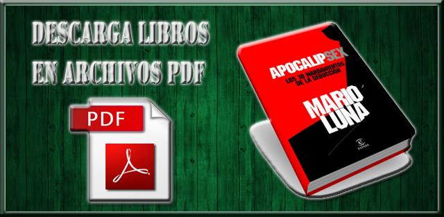 Libro APOCALIPSEX De Mario Luna PDF