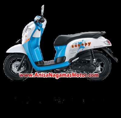Scoopy ESP Playful White Blue 2018 Anisa Naga Mas Motor Klaten Dealer Asli Resmi Astra Honda Motor Klaten Boyolali Solo Jogja Wonogiri Sragen Karanganyar Magelang Jawa Tengah.