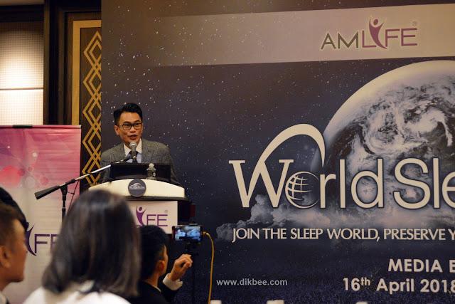 Kempen CSR Hari Tidur Sedunia bersama AmLife