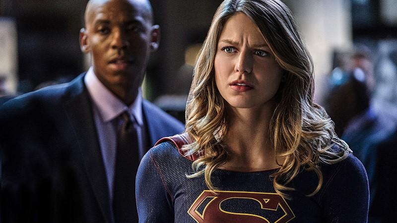 Supergirl Kara Danvers Melissa Benoist James Olsen Mehcad Brooks 2x05 S02E05 Crossfire