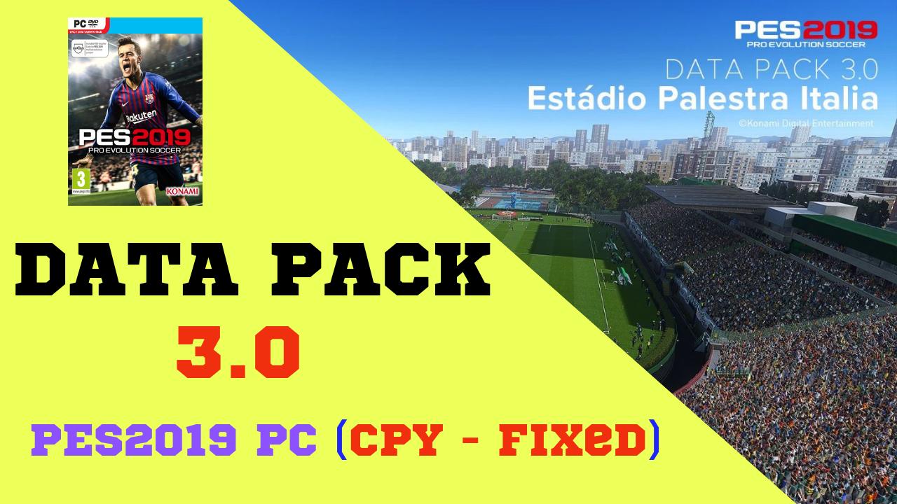 data pack 3.0 pes 2019 download