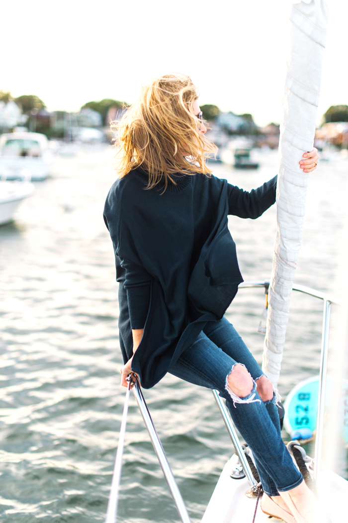 mer sea travel sweater