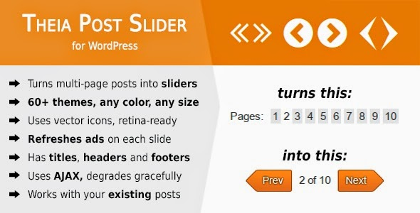 Theia Post Slider - WordPress Plugin