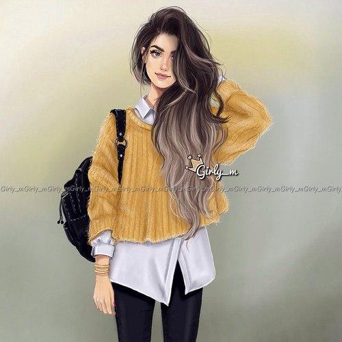 صور بنات رسم 2018 رسومات بنات جميلة كيوت مصراوى الشامل