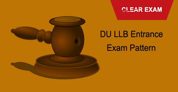 DU LLB Entrance Exam Pattern
