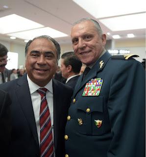 Reconoce Héctor Astudillo compromiso y trabajo del ejército mexicano