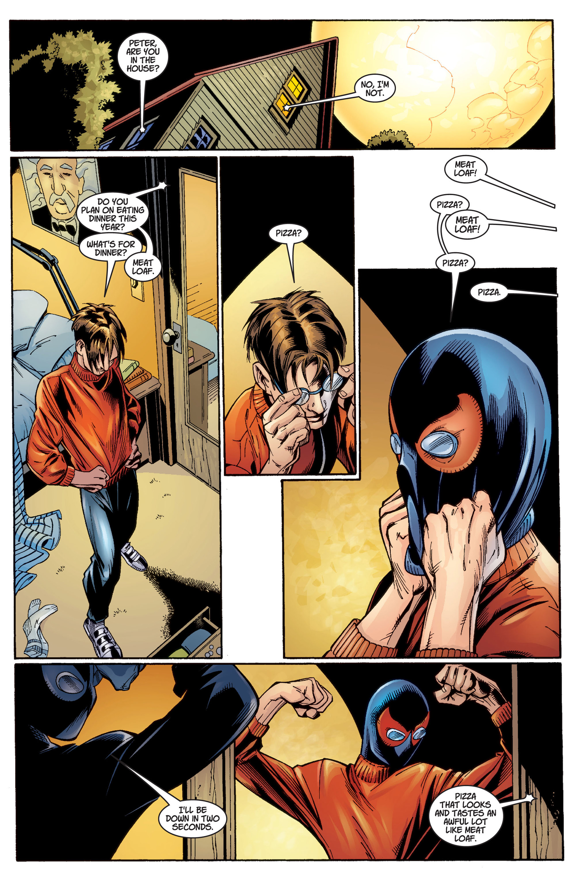 Read online Ultimate Spider-Man (2000) comic -  Issue #3 - 8