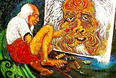 Contoh Karya Seni Rupa 2 Dimensi dan Penjelasannya