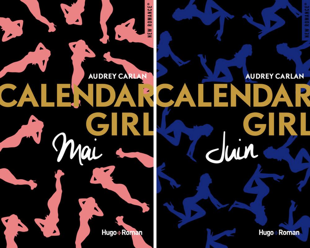 Lectures Juin 2017 - Calendar Girl Mai & Juin @DEAUXAIMES