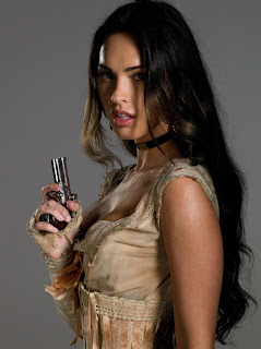 Megan Fox In Action With Pistol 1