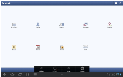 How to Facebook Logout for Facebook App