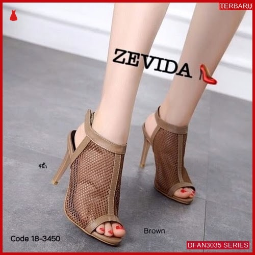 DFAN3035S135 Sepatu Adn03 High Hills Wanita Sepatu Hak BMGShop