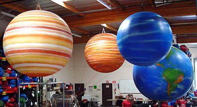 gigantic inflatable planets - photo #2