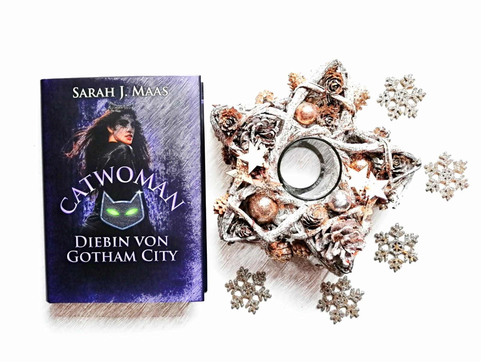 {Rezension} Catwoman - Diebin von Gotham City | Sarah J. Maas