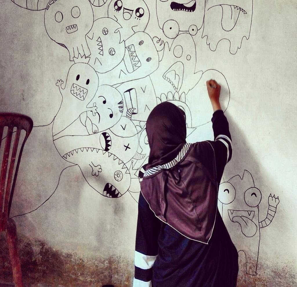 4400 Koleksi Gambar Doodle Keren Dinding Terbaik