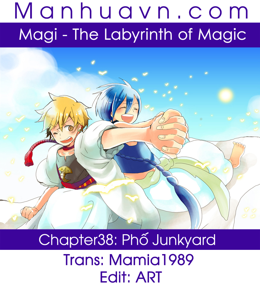 Magi The Labyrinth of magic chapter 38 trang 1