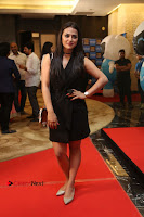 Actress Shraddha Srinath Stills in Black Short Dress at SIIMA Short Film Awards 2017 .COM 0033.JPG