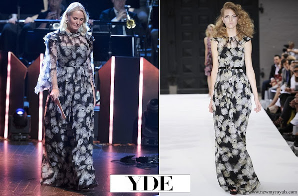 Crown Princess Mette-Marit wore Ole Yde gown