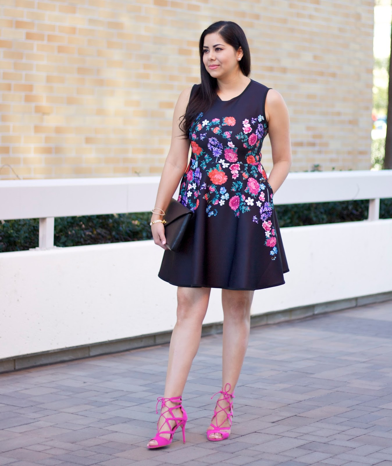 chicwish floral dress, san diego style blogger, san diego fashion, spring 2016 fashion