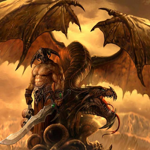 Dragon Warrior Wallpaper Engine