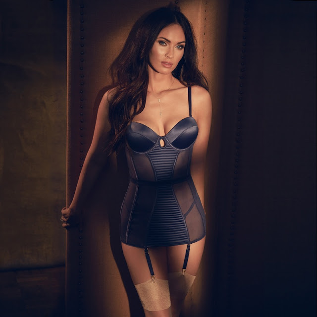 Fredericks of Hollywood Fall/Winter Latest Lingerie Campaign featuring Megan Fox