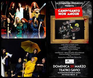 """UNA RISATA VI SEPPELLIRA'. PER ATTO UNICO LA COMMEDIA MUSICALE """"CAMPOSANTO MON AMOUR"""""""