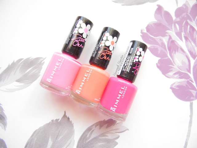 Rita Ora Nail Polishes for Rimmel London