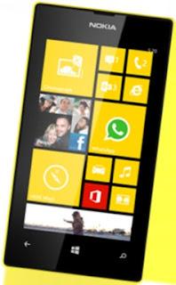 Harga Nokia Lumia 520 dan Spesifikasi