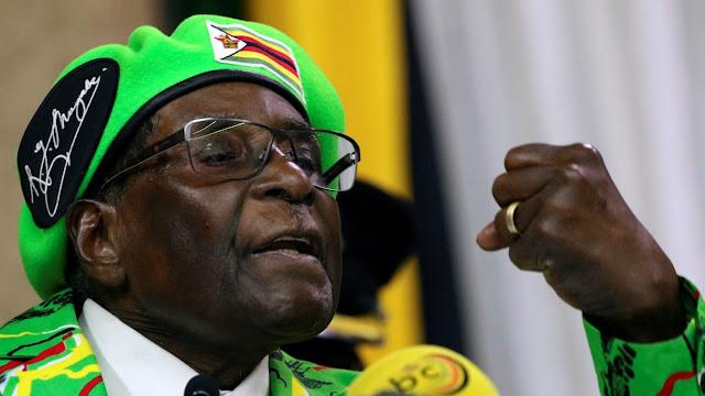 BOB Mugabe's Status at WHO Rescinded