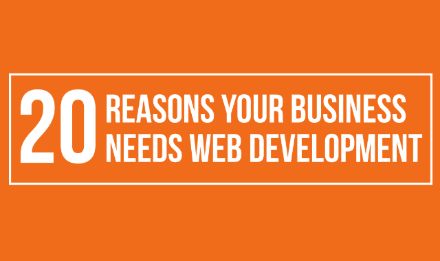 20 Reasons Your Business Needs Web Development