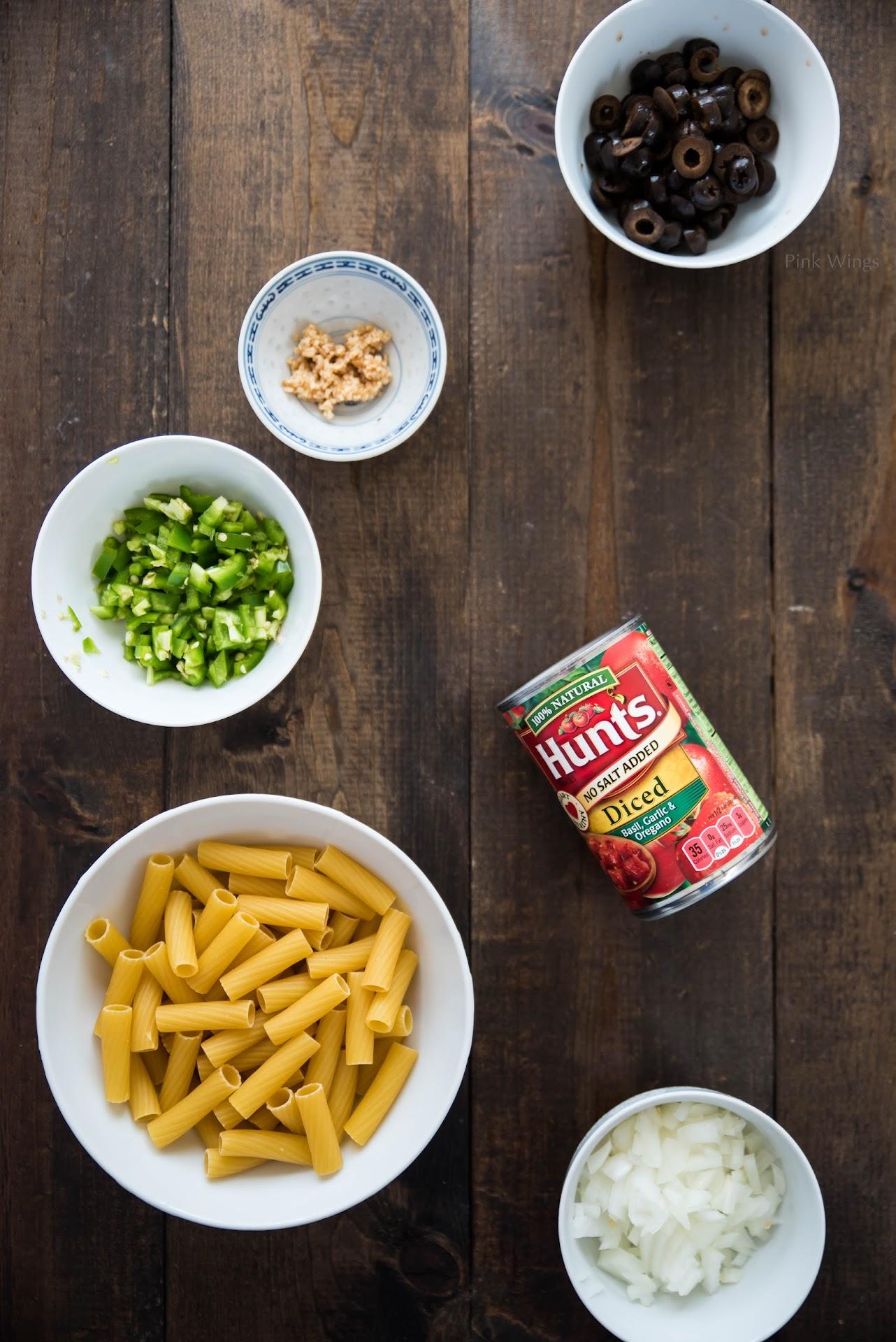 rigatoni pasta recipe, chicken riggies recipe, utica ny food, upstate ny blogger, lds mormon food blogger, one pot pasta dish recipe, creamy pasta sauce, spicy, hunt's diced tomatoes recipe