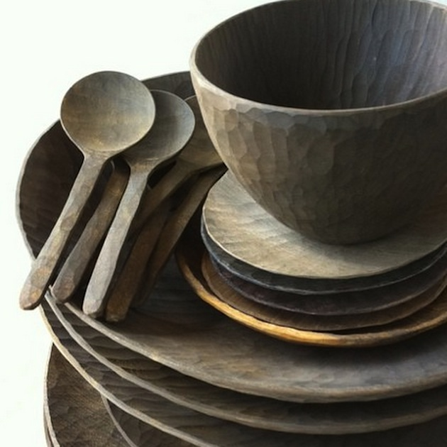 Wood Tableware Dishes