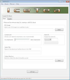 Cara mudah dan cepat membuat file High Compreess PSX Iso menggunakan Icetea v1.3