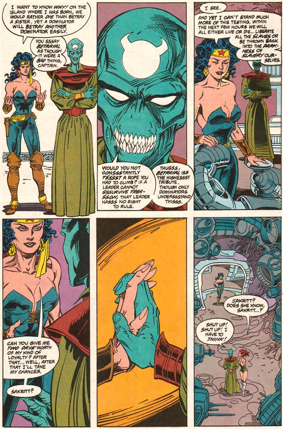 Read online Wonder Woman (1987) comic -  Issue #70 - 11