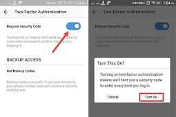 Cara Mengaktifkan Otentikasi Dua Langkah di Akun Instagram Agar Aman