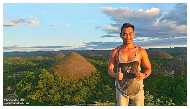 Mark Monta at Chocolate Hills