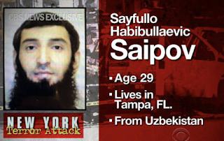 New York City attack: Who is Sayfullo Habibullaevic Saipov?