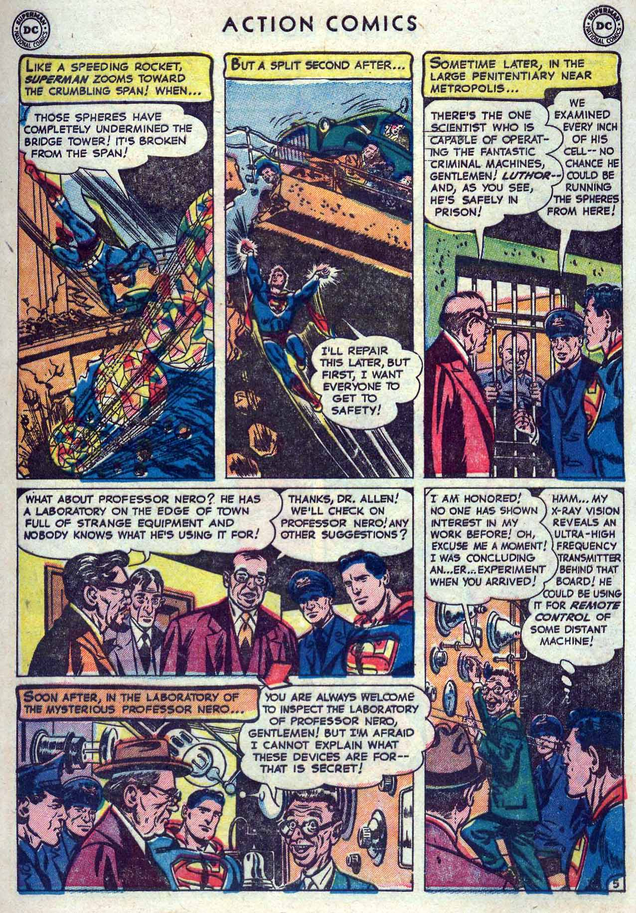 Read online Action Comics (1938) comic -  Issue #167 - 7