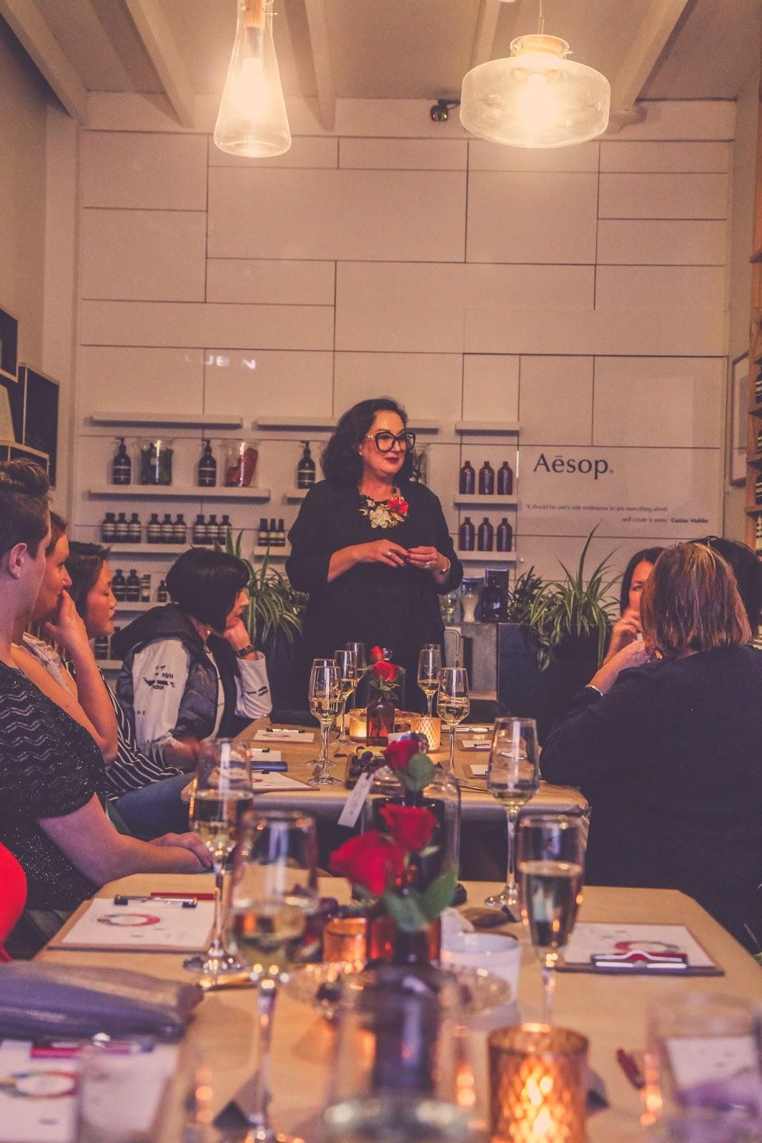 Liana of @findingfemme attends a perfume masterclass at Sweet Fern Ballarat