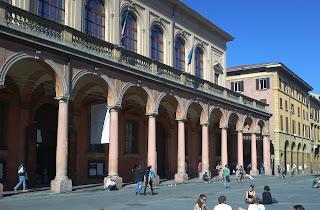 The Teatro Comunale in Piazza Giuseppe Verdi in Bologna