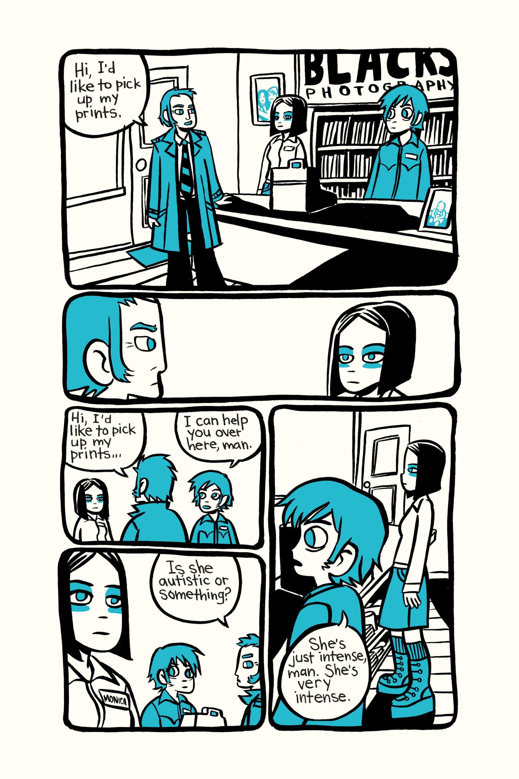 Read online Scott Pilgrim comic -  Issue #2 - 188