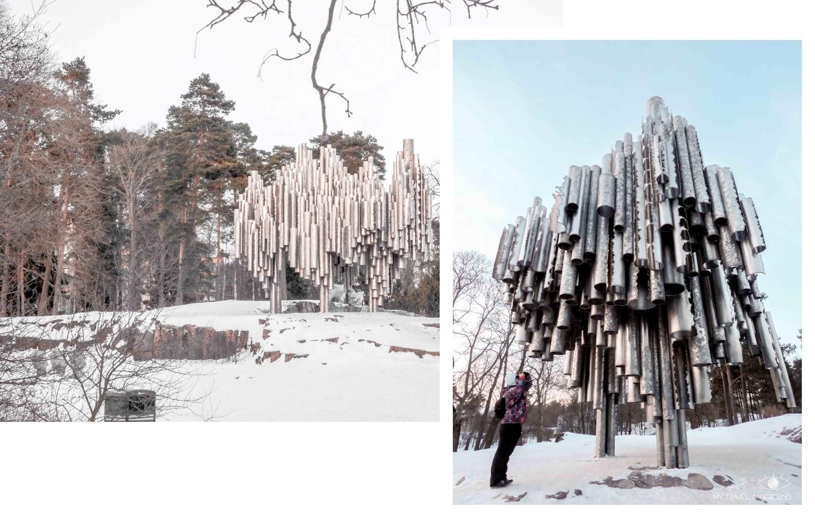 My Travel Background : 2 jours pour découvrir Helsinki, la capitale de la Finlande - Monument et parc Sibelius